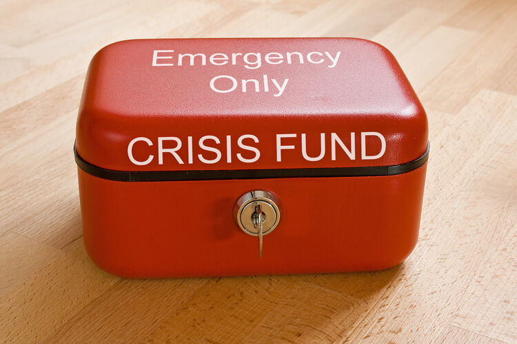 fast loans Financial Emergency crisis emergency red box