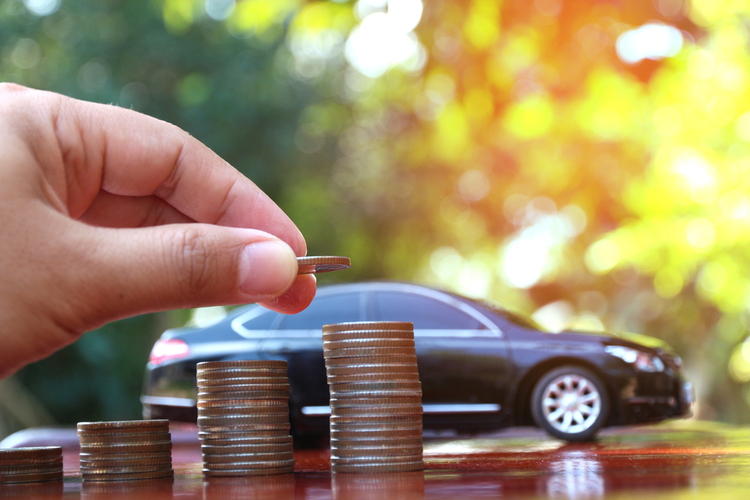 title loans near me own car financial relief coins in front of coin